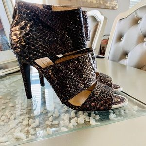Jessica Simpson Python Heels ✨